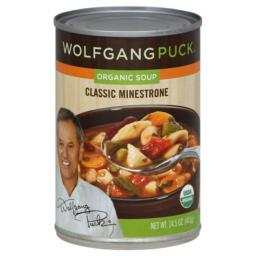 WOLFGANG PUCK SOUP MINESTRONE CLASSIC-14.5 OZ -Pack of 12