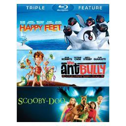 Happy feet/ant bully/scooby-doo-movie (blu-ray/tfe/3 disc) BR365693