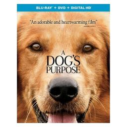 Dogs purpose (blu ray/dvd w/digital hd) BR61184389