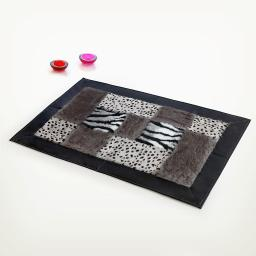 Onitiva - Structuralism Patchwork Rugs (19.7 by 31.5 inches)