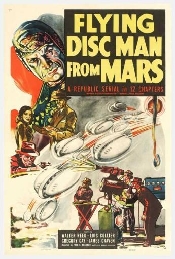 Flying Disc Man from Mars Movie Poster Print (27 x 40) TDQGJP4KNHULOS1X