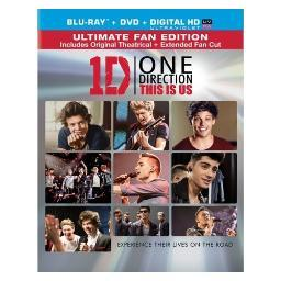 One direction-this is us (blu-ray/dvd combo/ultraviolet/2 disc) BR42414