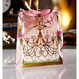 Crafters Companion Diesire Create-A-Card Cut and Emboss Dies Classic Chandelier