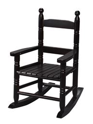 Gift Mark Childs Double Slat Back Rocking Chair - Espresso