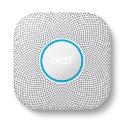 Nest Protect Smoke and Carbon Monoxide Detect - 2nd Generation - White, Battery