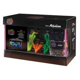 Aqueon 100530343 orange aqueon neoglow led aquarium kit 10 gallon orange 20.5 x 10.5 x 12.5