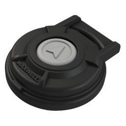 Maxwell up/down footswitch compact black p104810