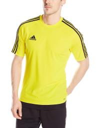 dda06813e Adidas Men s Estro 15 Jersey T-Shirt Yellow White