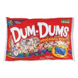 Dum-Dum-Pops Assorted Flavors Individually Wrapped 300 Per Pack | 1 Pack of: 300