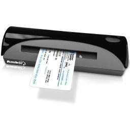 Ambir Technology, Inc. Ps667-As Sheetfed Scanner - Portable - 3 Seconds Per Single-Sided Card In Grayscale Mode