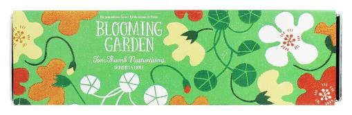 Noted - Blooming Garden Indoor Flower Cultivation Kit Tom Thumb Nasturtiums Noted - Blooming Garden Indoor Flower Cultivation Kit Tom Thumb NasturtiumsNoted Blooming Garden Indoor Flower Cultivation Kit Tom Thumb Nasturtiums grows beautiful flowers indoors any time of year. Each kit includes a stylish rectangular tin planter, seeds for a compact flower variety, coco fiber wafers and instructions. While Blooming Gardens will thrive on any sunny window stile, if weather is temperate, they can be transplanted to a patio container or the garden for even more blooms! Packaged with lovely illustrations, Blooming Garden is a great new lines of growing gifts. They Are Noted Noted is a designer, manufacturer and distributor of merchandise for better gift, museum and toy shops. Curious and well-designed activities and kits that appeal to all ages. many of them make great gifts. Founded in 2004, Noted works with designers and manufacturers all over the world especially Japan, the source of a number of Noted's unique products. You'll find products at Luckyvitamin.com