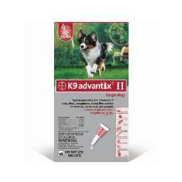 Advantix Advx-Red-55-4 Advantix Flea And Tick Control For Dogs 20-55 Lbs 4 Month Supply