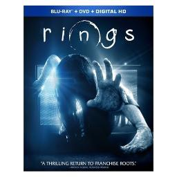 Rings (2017) (blu ray/dvd/w/digital hd) BR59183744