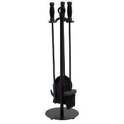 Blue Rhino F-1048 Uf 4 Pc Black Wrought Iron Fir