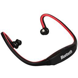 Bluetooth Behind-The-Neck Generic Headphones - Red