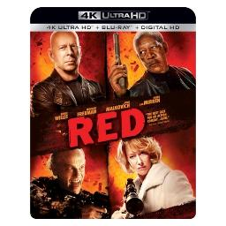 Red (blu ray/4kuhd/uv/digital hd) (ws/eng/eng sub/sp sub/eng sdh) BR52591