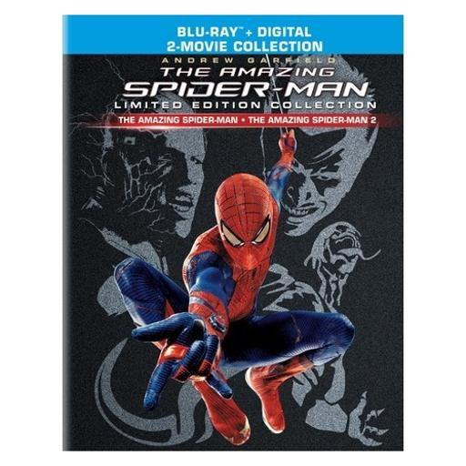 Amazing spiderman/amazing spiderman 2 (blu ray) (le) (3discs) QHLBBQJSN66I2GQD