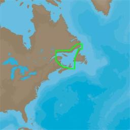 Na-d936 C-map 4d Na-d936 Gulf Of St. Lawrence