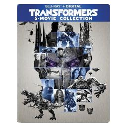 Transformers-5 movie collection (blu ray) BR59190768