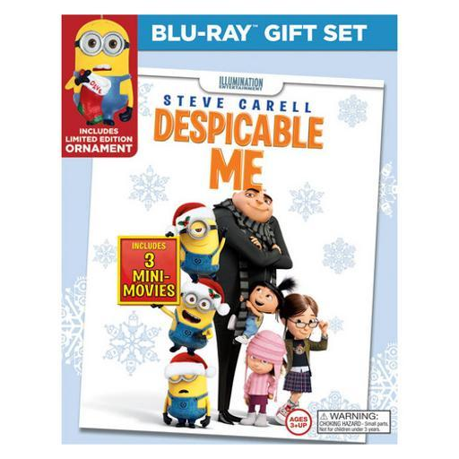 Despicable me (blu ray/dvd) (limited edition holiday gift set) (2discs)