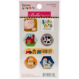 Barnyard Epoxy Stickers-Icons