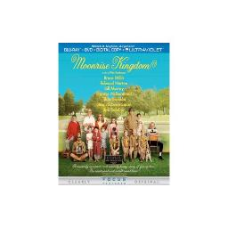 MOONRISE KINGDOM BLU RAY/DVD W/DIGITAL COPY (2DISCS/ENG SDH/SP/FR/WS/1.85:1 25192155345
