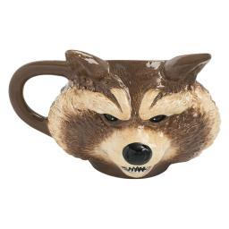 Marvel GOTG 16 oz. Rocket Sculpted Ceramic Mug Guardians of the Galaxy Comics