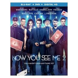 Now you see me 2 (blu ray/dvd w/digital hd) BR50300