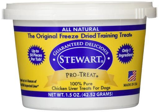 Miracle Corp 401702 Miracle Corp Stewart Pro-Treat Freeze Dried Chicken Liver 1.5 Oz. 3F2949E84BA72C87