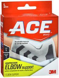 Ace Knitted Elbow Support Large - 1 Each