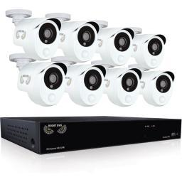 Night owl b-10ph-881-pir 8ch 1080p dvr 1tb 100ft nv 8cam