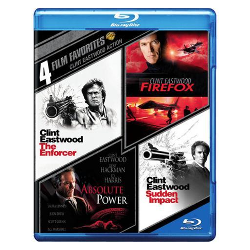 4 film favorites-clint eastwood action (blu-ray/4 disc) 1288095