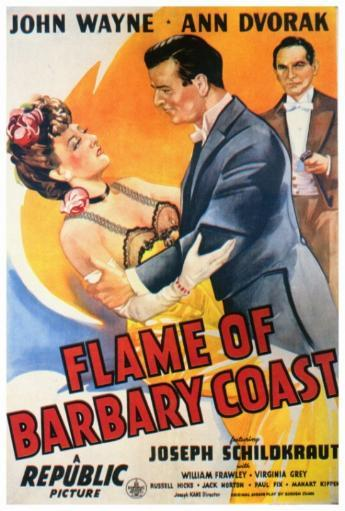 Flame of the Barbary Coast Movie Poster Print (27 x 40) ZDIF47TOEOYP391F