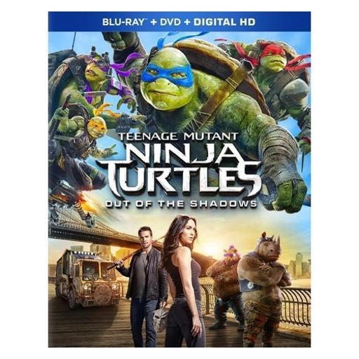 Tmnt 2-out of the shadows (blu-ray/dvd combo/2016)