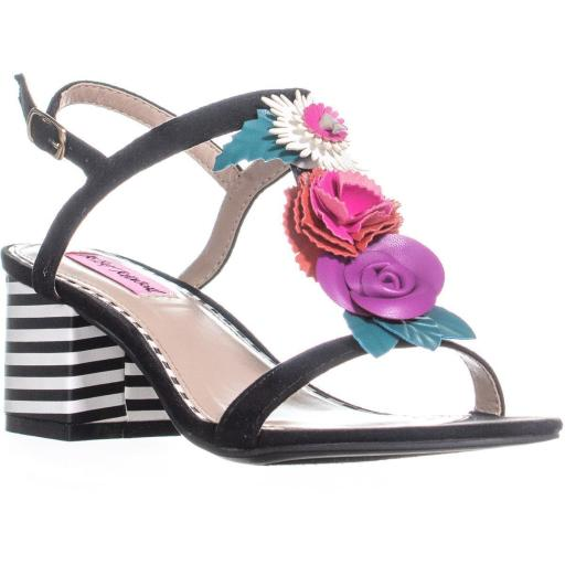 6a5bb64526b4 Betsey Johnson Betsey Johnson Andey Block Heel Ankle Strap Sandals ...