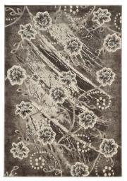 "Linon Jewel Collection BYJ0858 Area Rug (Gray) (0.75""H x 5'W x 7'6""D)"