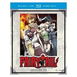 Fairy tail-collection ten (blu-ray/dvd combo/8 disc) BRFN01427
