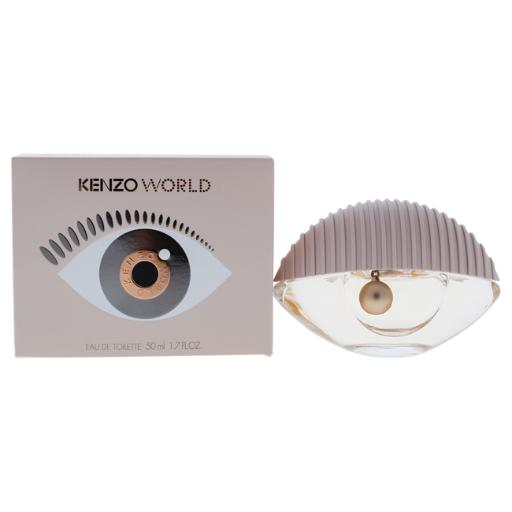 Kenzo World By Kenzo For Women - 1.7 Oz Edt Spray  1.7 Oz Kenzo World By Kenzo For Women - 1.7 Oz Edt Spray  1.7 oz - New - Kenzo