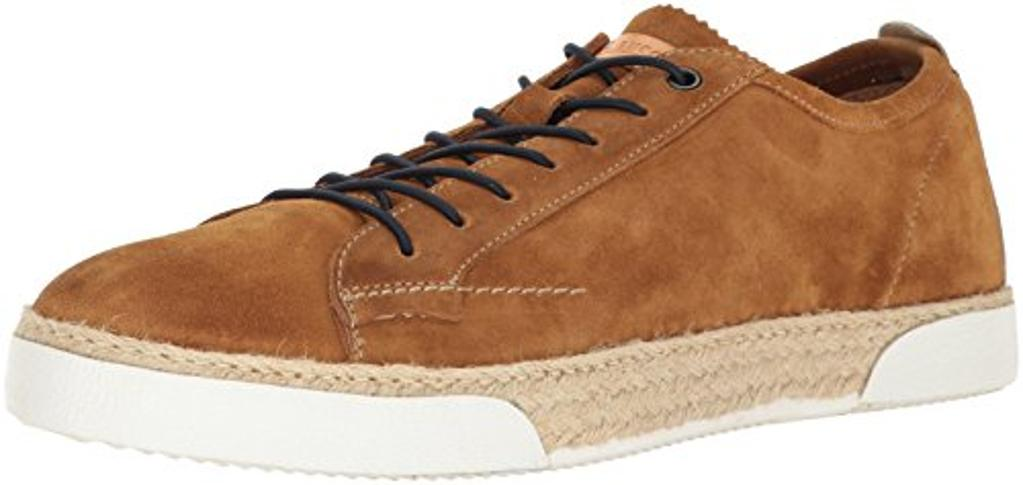 Bacco Bucci Men's Felice Fashion Sneaker, Tan, 10.5 US/10.5 D US