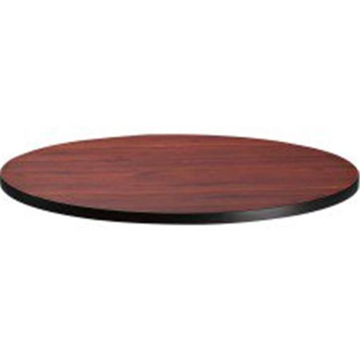 Mayline CA36RTRMH 36 in. Bistro Series Round Laminate Table Top, Mahogany