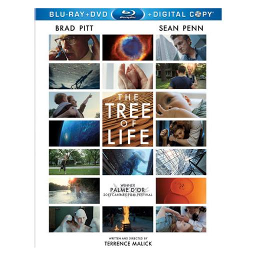 Tree of life (blu-ray/dvd/dc/3 disc/combo/ws-1.85/eng-sp sub)-nla TIOCXZ33GDYKYEO6