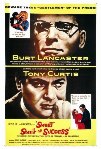 The Sweet Smell of Success Movie Poster Print (27 x 40)