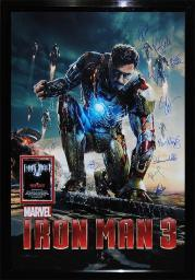Iron Man 3 - Signed Movie Poster