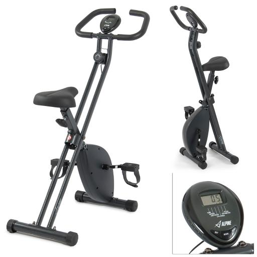 Akonza© Folding Exercise Bike Home Cycling Magnetic Trainer Fitness Stationary Machine