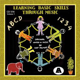 Educational activities learning basic skills thru music cd514