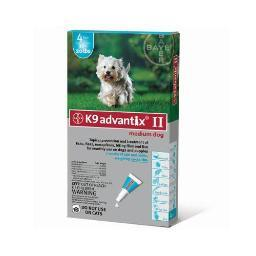 Advantix Advx-Teal-20-4 Advantix Flea And Tick Control For Dogs 10-22 Lbs 4 Month Supply