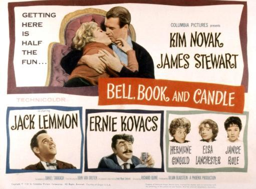 Bell Book And Candle Kim Novak James Stewart Jack Lemmon Ernie Kovacs Hermione Gingold Elsa Lanchester Janice Rule 1958 Movie Poster Masterprint