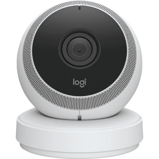 Logitech 961-000393 circle portable home cam wht
