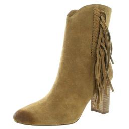 Charles by Charles David Womens BOULDER Suede Block Heel Mid-Calf Boots