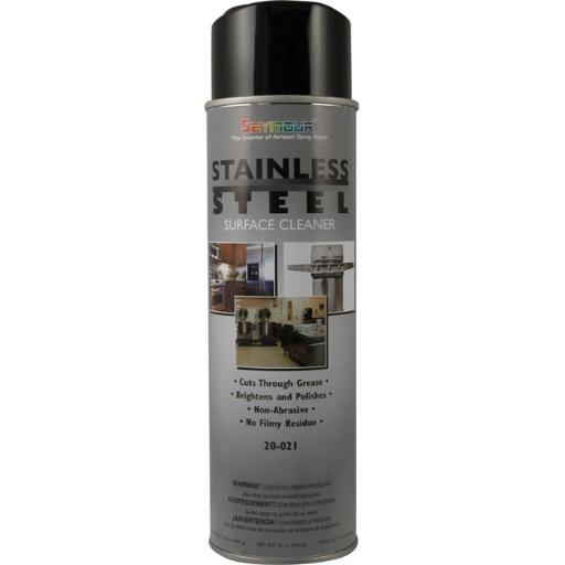Seymour of Sycamore 20-21 16 oz Stainless Steel Surface Cleaner - Pack of 12